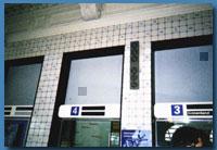 デルフト駅の中央ホールを彩るタイル画
